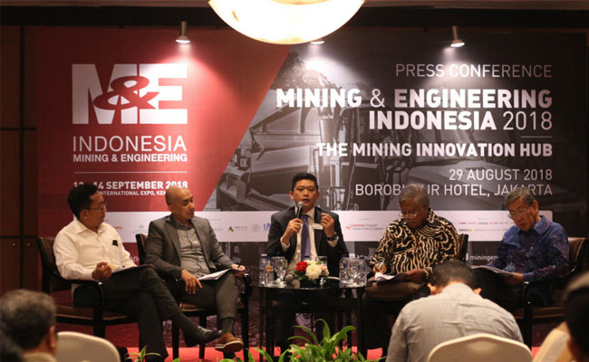 8 Negara Ramaikan Mining & Engineering Indonesia 2018